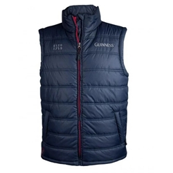 Guinness Navy Padded Body Warmer - J3012